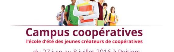 Campus coopératives revient en 2016 !